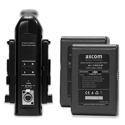 Axcom V-Mount Set 2*90Watt Image