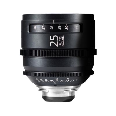 Sony Prime CineAlta 25mm Image